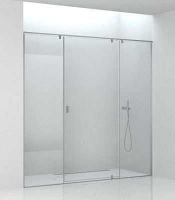Shower enclosures E3D3A, Niche - Pivot Door