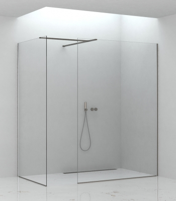 Shower enclosures E3F1A + E3F1A, Corner - Walk-in