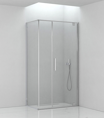 Shower enclosures E6B4A, Corner - Pivot Door