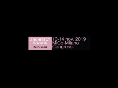 Cesana at Architect@Work Milan - November 2019, 13th and 14th