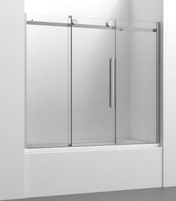 Shower enclosures E2C3A, Bath-tub screen - Sliding Door