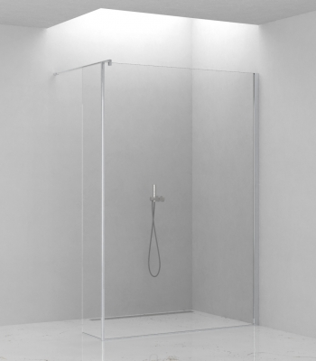 Shower enclosures E1F1A + E1F3A, Corner - Walk-in