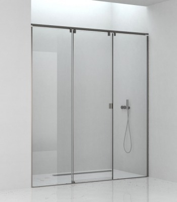 Shower enclosures E3C3A, Niche - Sliding Door
