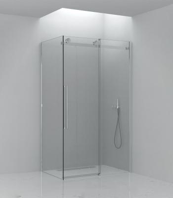 Cabine doccia E2C2A + E2G1A, Angolo - Porta scorrevole