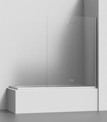 Shower enclosures E7P2A, Suite - Bathtub screen