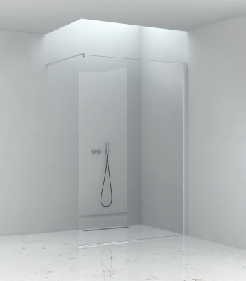 Shower enclosures E1F1A, Corner - Walk-in
