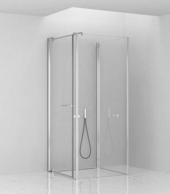 Cabine doccia E1D2A, Parete - porta battente