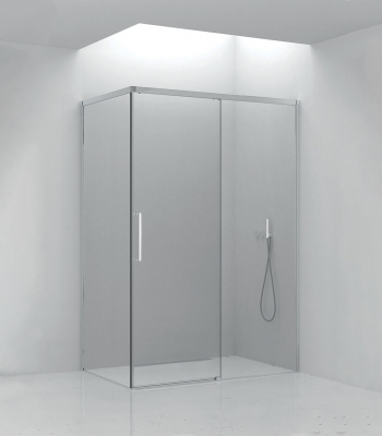 Shower enclosures E5C4A, Corner - Sliding Door