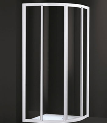 Tecnofour, Quadrant Corner - Two Sliding Doors