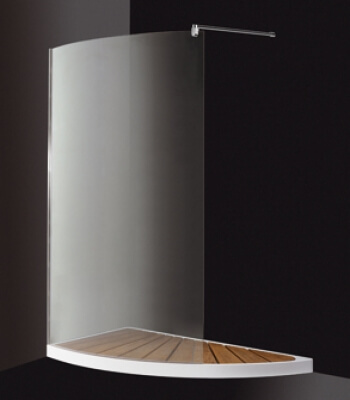 Half Moon, Integrated Shower Enclosures