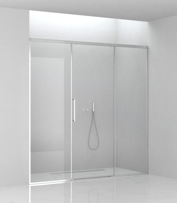 Cabine doccia E5C3A, Nicchia - Porta Scorrevole