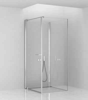 Cabine doccia E1D1A, Parete - Porta Battente