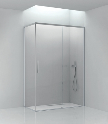 Shower enclosures E6C2A, Corner - Sliding door