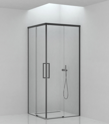 Shower enclosures E5C5A, Corner - Sliding Door
