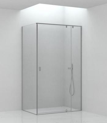 Shower enclosures E3B8A, Corner - Pivot Door