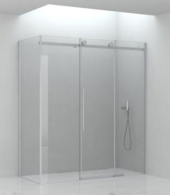 Cabine doccia E2C6A, Angolo - Porta scorrevole