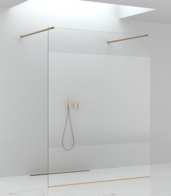 Shower enclosures E3F2A, Panel - Walk-in