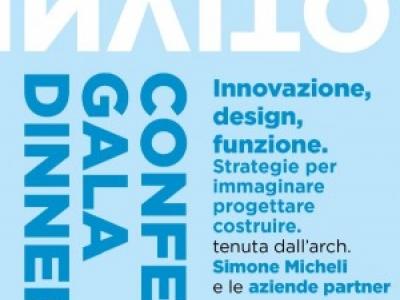 """Conferenza """"Innovazione, design, funzione. Strategie per immaginare-progettare-costruire"""""""