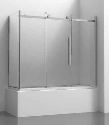 Shower enclosures E2C6A + E2G1A, Bath-tub screen - Sliding Door