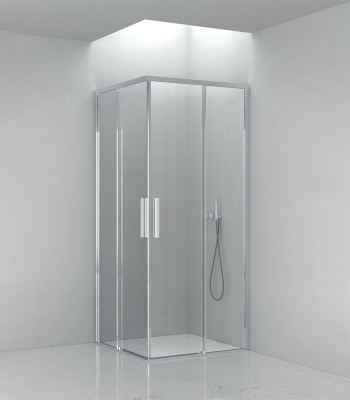Shower enclosures E6C9A, Corner - Sliding door